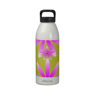 Daisy Brights - Pink and Gold Drinking Bottle