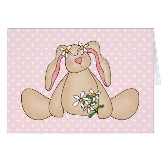Daisy Bunny Note Card