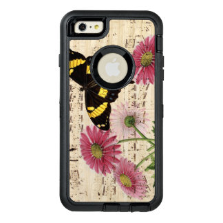 Daisy Butterfly Music OtterBox Defender iPhone Case