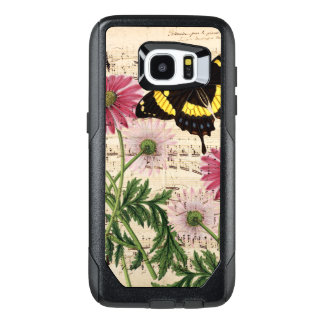 Daisy Butterfly Music OtterBox Samsung Galaxy S7 Edge Case