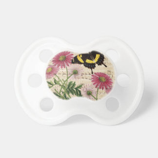 daisy Butterfly Music Pacifier