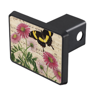Daisy Butterfly Music Trailer Hitch Cover