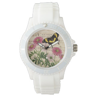 Daisy Butterfly Music Watch