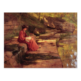 Daisy by the River by Theodore Clement Steele Postcard