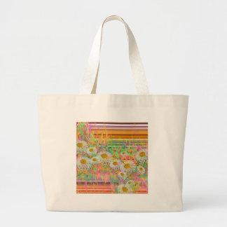 Daisy Cascade.JPG Large Tote Bag
