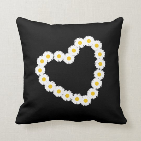 Daisy Chain Print Cushion