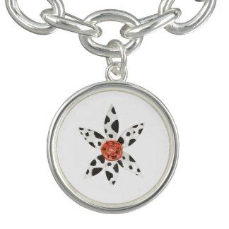 Daisy Cow Charm Bracelet