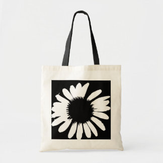Daisy Crazy - Black & White Daisy Bag