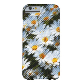 Daisy Dab Halftone Barely There iPhone 6 Case