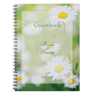 Daisy Daisies Flower Floral Summer guest book