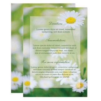 Daisy Daisies Flower Floral Summer Wedding Card