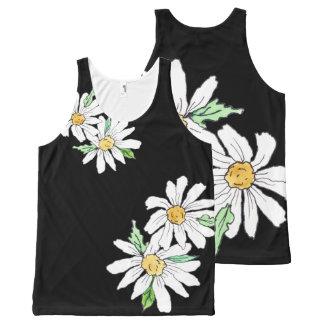 Daisy, Daisy All-Over-Print Tank Top