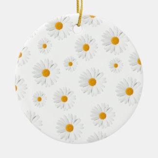 Daisy, daisy - lovely flower design ceramic ornament