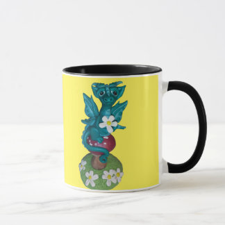 Daisy dragon coffee mug