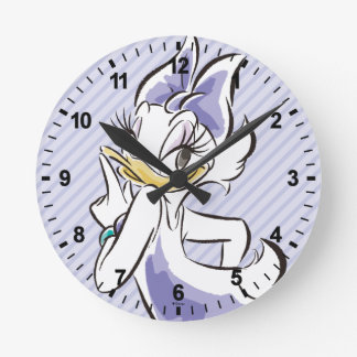 Daisy Duck | Sweet Like Sugar Round Clock