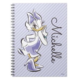 Daisy Duck   Sweet Like Sugar Spiral Notebooks