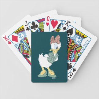 Daisy Duck | You Make Me Wander Bicycle Playing Cards