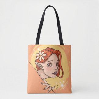 Daisy Elf tote bag