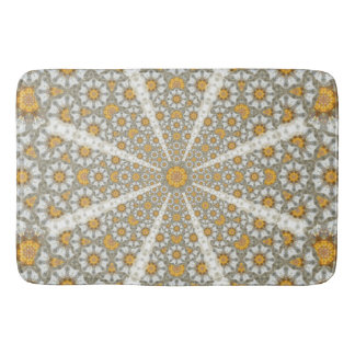 Daisy Fields Mandala Bath Mat