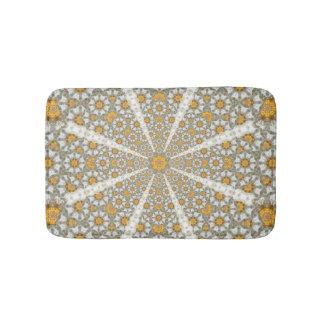 Daisy Fields Mandala Bathroom Mat