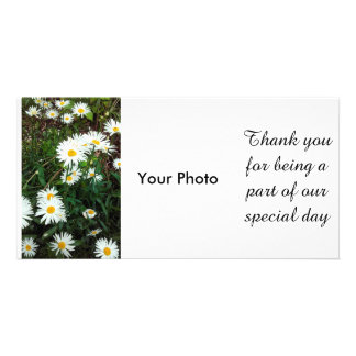 Daisy Floral wedding Theme Photocard Picture Card