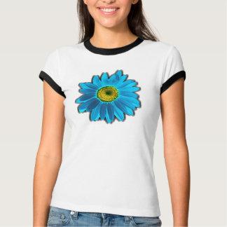 Daisy Flower blue T-Shirt