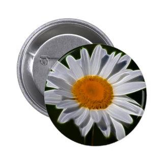 Daisy flower 2 inch round button