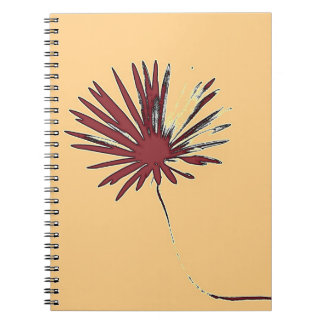 Daisy Flower, c.1982 #2 - Fine art Notebook