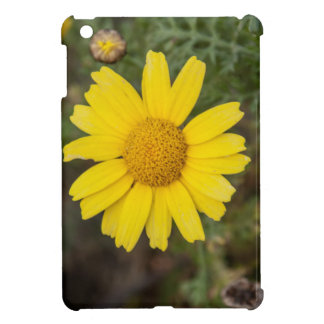 Daisy flower cu yellow iPad mini covers