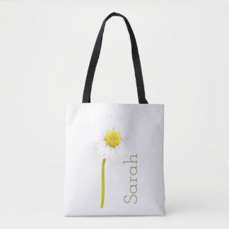 Daisy Flower Customisable All-Over-Print Tote Bag