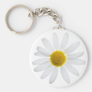 Daisy flower keychain