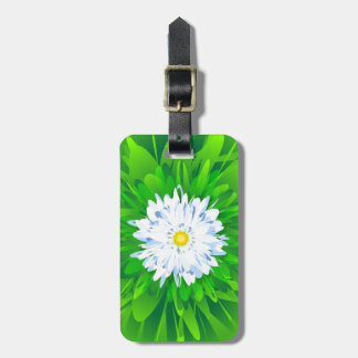 Daisy Flower Luggage Tag