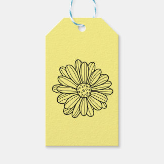 Daisy Flower Pack Of Gift Tags