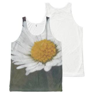 Daisy flower photograph All-Over-Print tank top