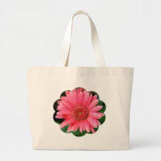 Daisy Flower Shape Jumbo Tote Bag