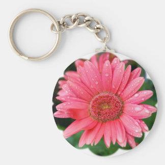 Daisy Flower Shape Keychain