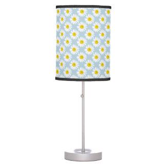 Daisy flower table lamp