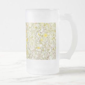 Daisy Flowers Art Mug