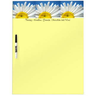 Daisy Flowers Dry Erase Boards Therapy Friends