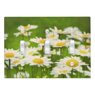 Daisy Flowers Yellow Daisies Light Switch Plate