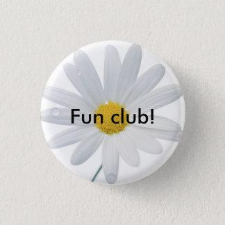 daisy, Fun club! 1 Inch Round Button
