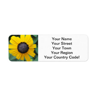 Daisy Garden Flower Gloriosa Return Address Label