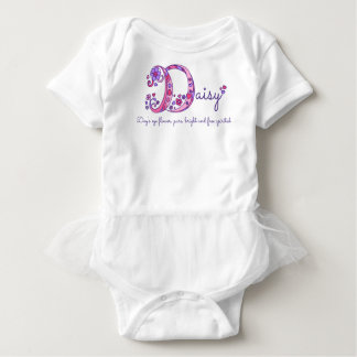 Daisy girls name & meaning D monogram shirt