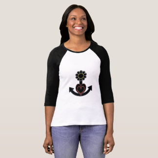 daisy heart and anchor T-Shirt