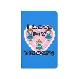 Daisy I Love My Troop Heart Journal
