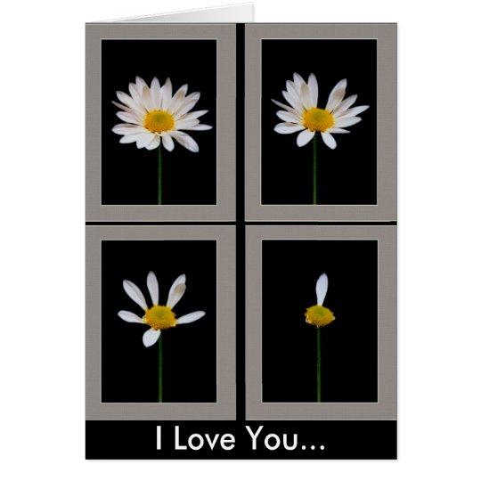 Daisy - I Love You Card