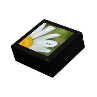 Daisy It Is Well With My Soul Keepsake Gift Box