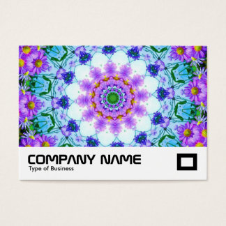 Daisy Kaleidoscope Business Card