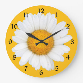 Daisy Large Clock