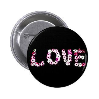 Daisy Love 2 Inch Round Button